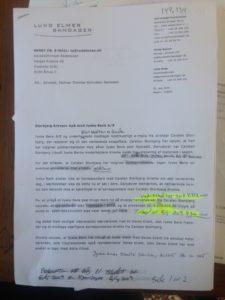 Jyske Bank vil ikke svare, på det lån Nykredit ikke kender til, og påstår at lånet på de 4.328.000 er udbetalt ja så men hvad er det lige at Advokaten prøver på, skulle jeg have hjemtaget et lån 16/4 2009 et tilbud der udløb 20/11 2008 og som så er udbetalt 3 måneder efter, eller er det endnu til løgn fra Jyske Bank, denne her fra Advokaten, bestyrelsesmedlemmet. det må Jyske bank kunne forklare, Jeg har ganske rigtig rigtig et andet lån i Nykredit, men dette har intet med spørgsmål at gøre, alene tilbudet er senere i tid, derfor kan det ikke være en fejl. At jyske bank ikke ønsker at forklare sig er vis ganske tydeligt, men der jo også en del at forklare.
