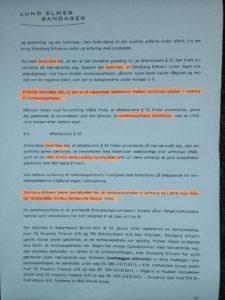 Jyske Bank forklare at Jyske Bank ikke har lavet SVIG, og det er kunden selv der skal bevise Jyske Bank har snydt ham
