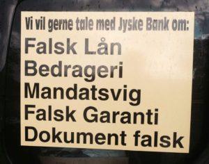 Mandatsvig mod kunde i jyske bank