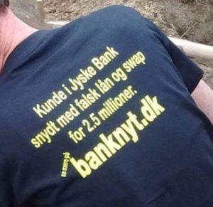Kunde forsøger at jyske bank skal se der ønskes dialog Jyske bank frabeder sig henvendelse i bedrageri sag, og nægter at svare på noget, mens jyske bank fortsætter med bedrageriet