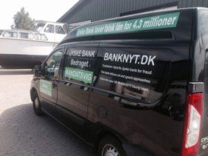 Gratis biler i jysk bank Her gør banken lidt ekstra for at lyve for deres kunder Hallo jyske bank ring