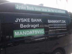 Jyske bank vil ikke svare kunde på spørgsmål om bedrageri Men nægter dialog med kunde, vi ønsker at tale med jyske bank Er det så svært at forstå