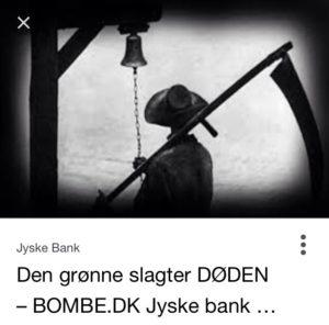 Jyske bank er iskolde når deres slagtere møder på jobbet Slagte grisen er bankens kunder